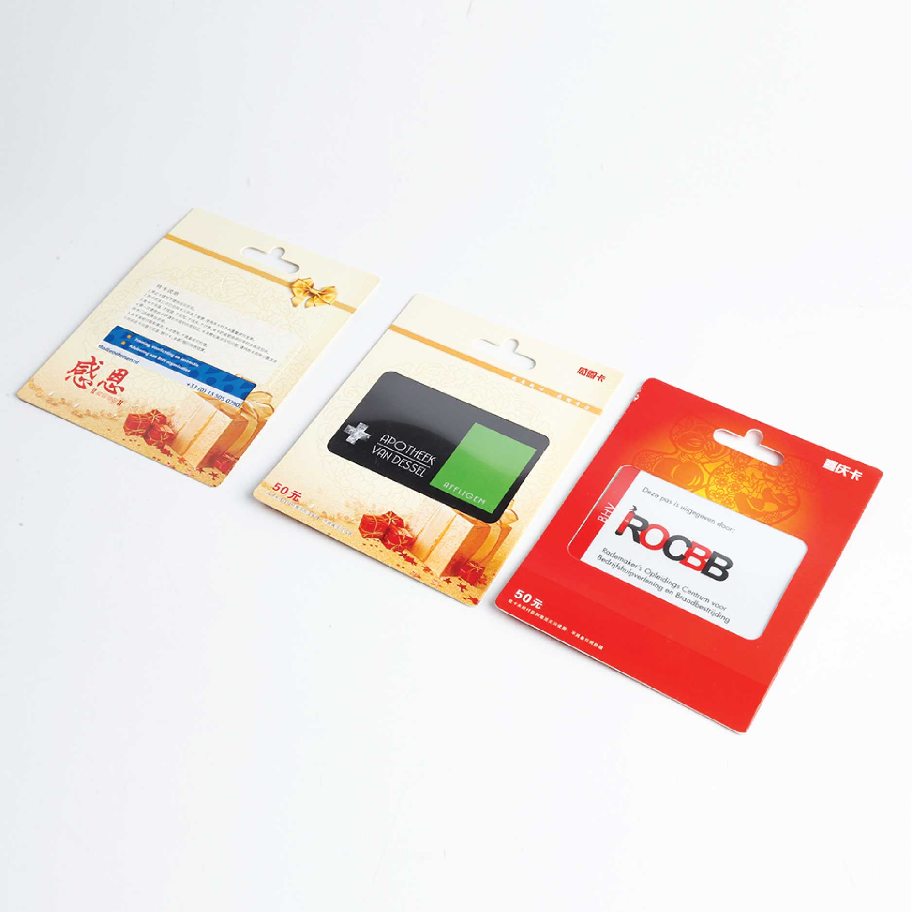 PVC Plastic Business Gift Card