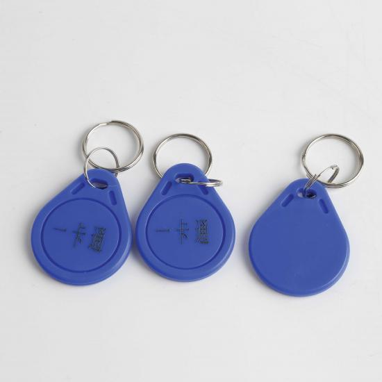 ID key fob for entry and exit management